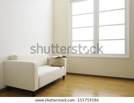 lining room abstract - stock photo