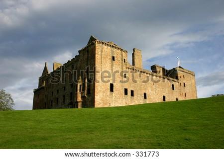 Linlithgow Palace Scotland - stock photo