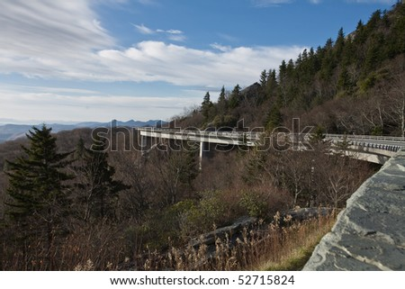 Linville Viaduct - stock photo