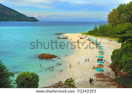 Lipe, Thailand Sea. - stock photo
