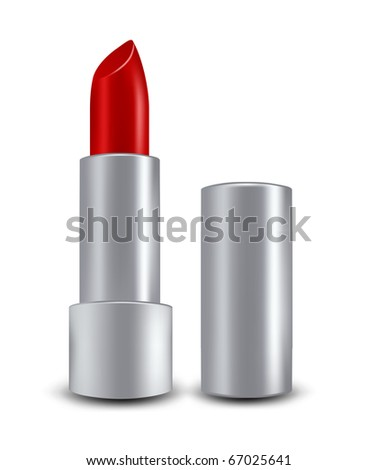 lipstick - stock photo