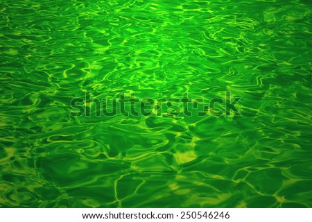 Liquid Color - Texture and Backgrounds that Inspire - Emerald Green Water - stock photo