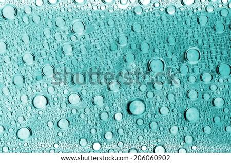 liquid drops - stock photo