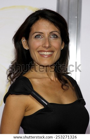 "Lisa Edelstein at the AFI FEST 2009 Screening of ""Precious"" held at the Grauman's Chinese Theater in Hollywood, California, United States on November 1, 2009."