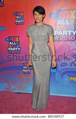 "Lisa Edelstein - star of ""House"" - at Fox TV's All Star Party at Santa Monica Pier. August 2, 2010  Santa Monica, CA Picture: Paul Smith / Featureflash"