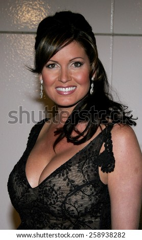 "Lisa Guerrero attends The DreamWorks SKG Premiere of ""Match Point"" held at The LACMA in Los Angeles, California on December 8, 2005."