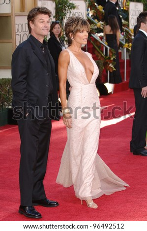 LISA RINNA & husband HARRY HAMLIN at the 63rd Annual Golden Globe Awards at the Beverly Hilton Hotel. January 16, 2006  Beverly Hills, CA  2006 Paul Smith / Featureflash