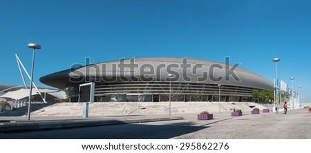 lisbon city portugal MEO Arena landmark architecture 20.05.2011 - stock photo