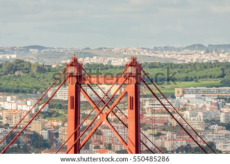 Lisbon Suspension Brige