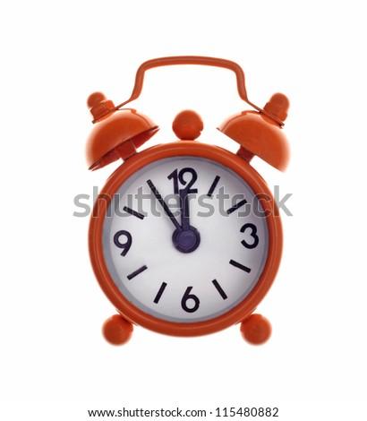 Little alarm clock - stock photo