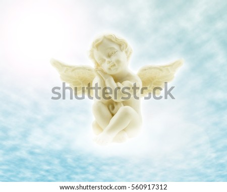 Little Angel With Wings In The Heaven