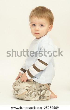 little boy - stock photo