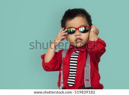 Little Boy Kid Adorable Cute Playful Portrait Concept