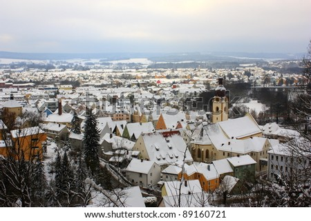 little city in Bavaria