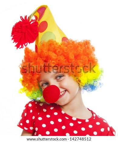 little clown - stock photo