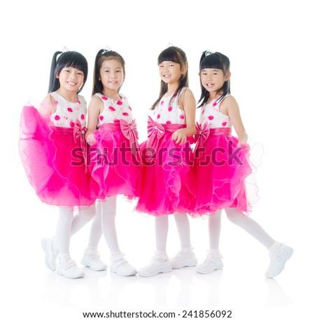 Little dancers - stock photo