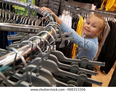 little girl clothes shopping