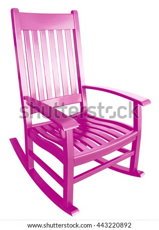 Porch Furniture Isolated Stock Royalty Free