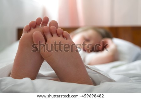 Portrait Smiling Young Woman Relaxing On Stock Photo