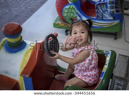 Little good toy car baby Asian