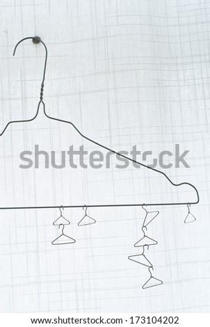 little hanger - stock photo