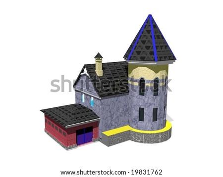Little house - stock photo