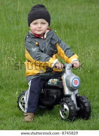 Little racer - stock photo