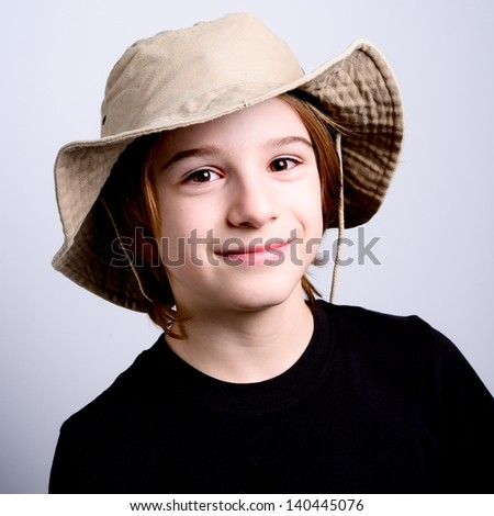 little scout - stock photo