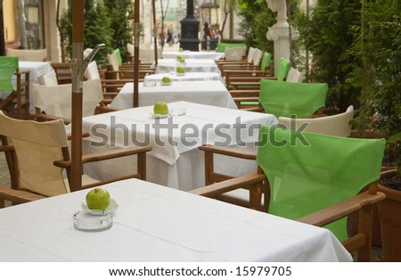 Little tables of years restaurant