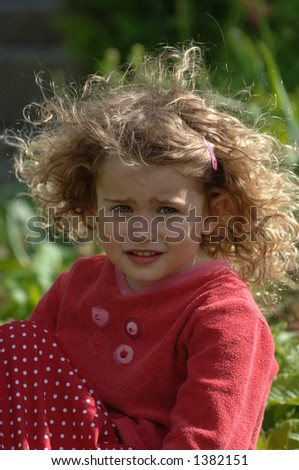 Little Toddler - stock photo