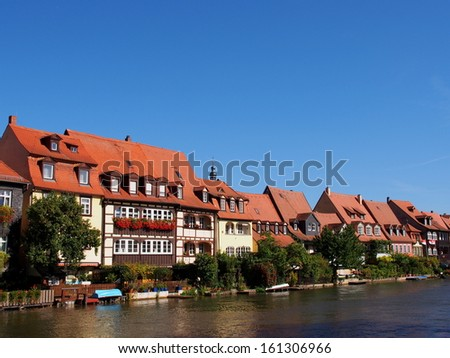 Little Venice in Bamberg, Germany - A UNESCO World Heritage SIte