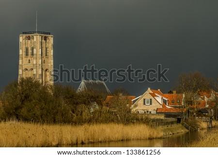 Little village - stock photo