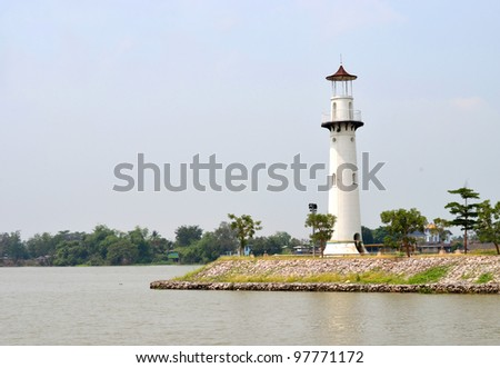 Liver-side lighthouse