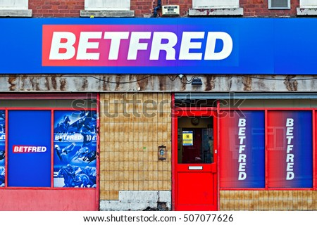 LIVERPOOL UK, 27th OCTOBER 2016. Betfred bookmakers shop in Liverpool, which has over 1300 betting shops in the UK