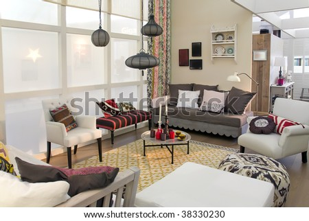 living in country style - stock photo