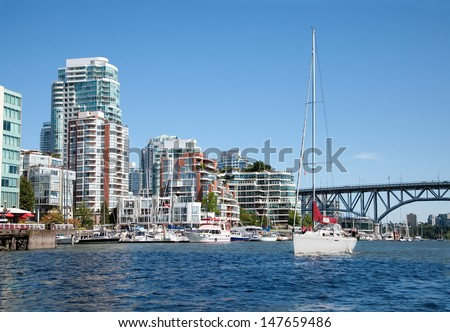 Living in Vancouver - stock photo