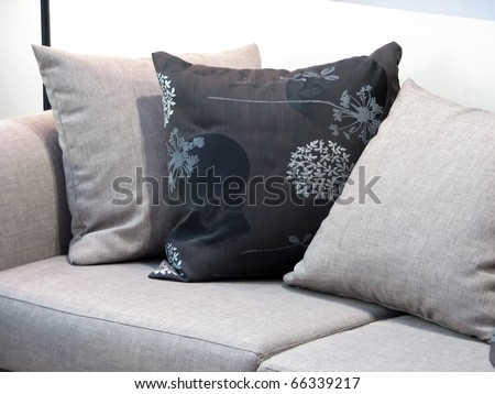 Living room furniture. Living room couch. - stock photo