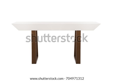 living room furniture stand isolated on white background