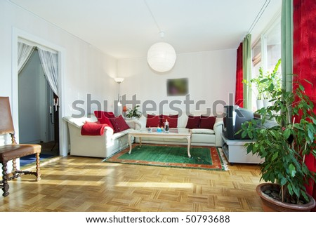 livingroom - stock photo