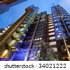 Lloyd's building, London - stock photo