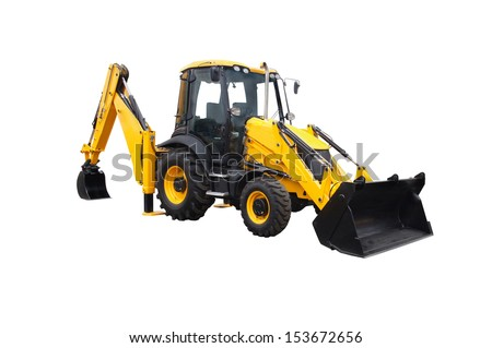 loader under the white background