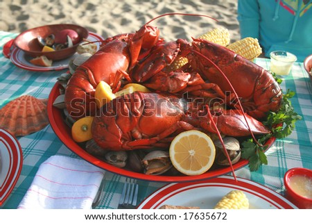 Lobster and Clambake