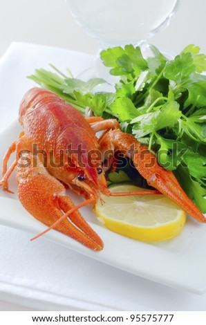 lobster boiled