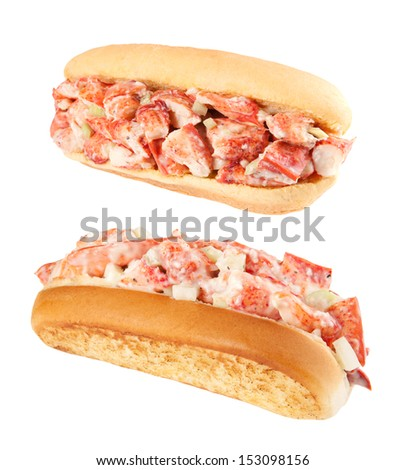 Lobster rolls - stock photo