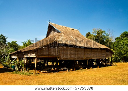 Local cabin, LAO