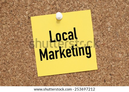 Local Marketing - stock photo
