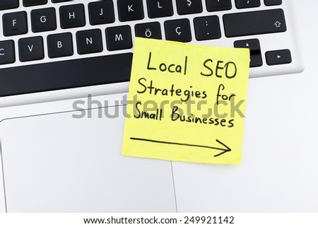 Local SEO Strategies For Small Businesses - stock photo