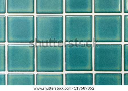 local style Thai Green ceramic tiles