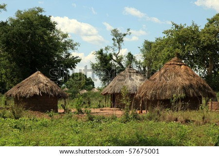 Local Village in Uganda - The Pearl of Africa