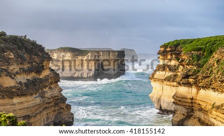 Loch Ard Gorge, The great ocean road, Victoria,Australia.